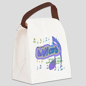 DavidDanced Canvas Lunch Bag