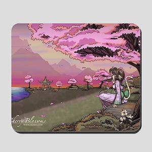 Anime Catgirl Art Inspirational Gift Mousepad