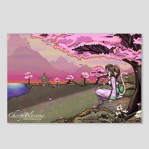 Anime Catgirl Art Inspira Postcards (Package of 8)