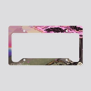 Anime Catgirl Art Inspiration License Plate Holder