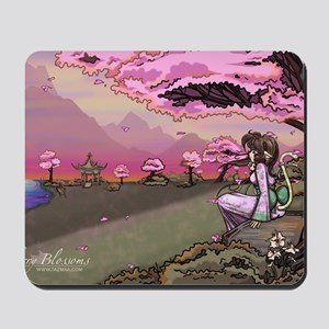 Anime Catgirl Art Inspirational Gift Mousepad