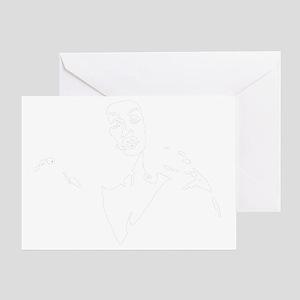 Plan9vampirewman Greeting Card