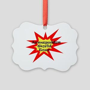 Armageddon World Tour/Front Picture Ornament