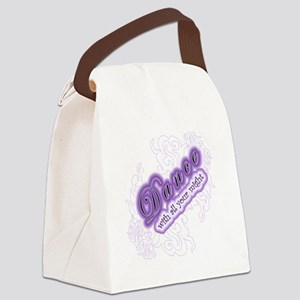 dance2dk Canvas Lunch Bag