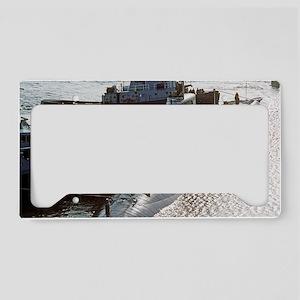 fskey rectangle magnet License Plate Holder