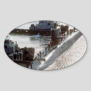 fskey rectangle magnet Sticker (Oval)