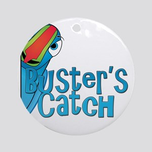 Busters Catch Round Ornament