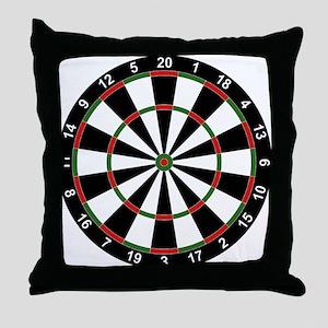 Dart Board Classic Throw Pillow