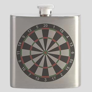 Dart Board Classic Flask