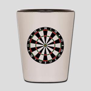 Dart Board Classic Shot Glass