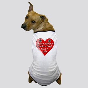 adopt_a_shelter_dog_white_transparent Dog T-Shirt