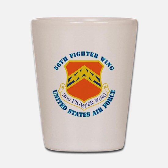 56th-fighter-wing-txt Shot Glass