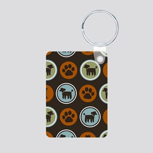 poodleslider Aluminum Photo Keychain