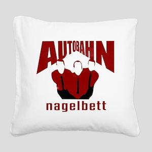 Autobahn Square Canvas Pillow