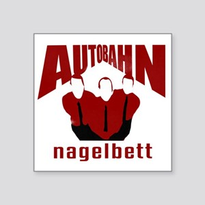 "Autobahn Square Sticker 3"" x 3"""
