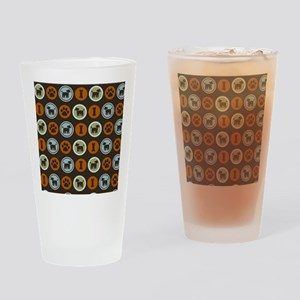 poodleflipflop Drinking Glass