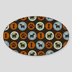 poodlesskin Sticker (Oval)