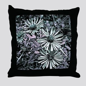 Designer Floral Throw Pillow