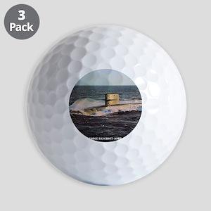 gbancroft framed panel print Golf Balls