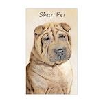 Shar Pei Sticker (Rectangle)