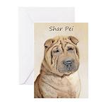 Shar Pei Greeting Cards (Pk of 10)