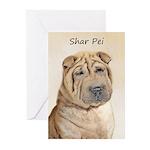 Shar Pei Greeting Cards (Pk of 20)