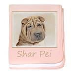 Shar Pei baby blanket
