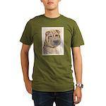 Shar Pei Organic Men's T-Shirt (dark)