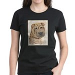 Shar Pei Women's Dark T-Shirt