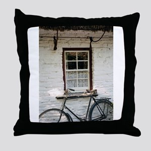 Irish Cottage Throw Pillow