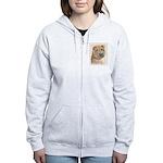 Shar Pei Women's Zip Hoodie