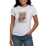 Shar Pei Women's Classic White T-Shirt