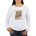 Shar Pei Women's Long Sleeve T-Shirt