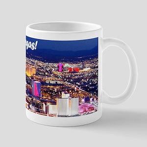 Las Vegas Strip (blue sky) 11oz Mug