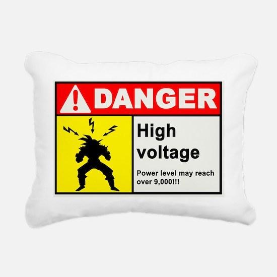 HighVoltage Rectangular Canvas Pillow