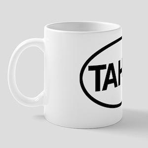 TahitiOvalSticker Mug