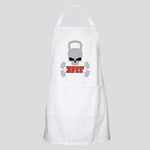 crossfit cross fit skull kettlebell dark Apron