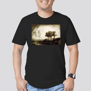 The three trees - Rembrandt - 1643 T-Shirt