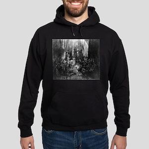 The three crosses - Rembrandt - 1653 Sweatshirt