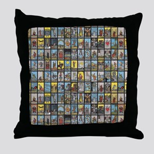 Tarot Throw Pillow