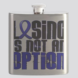 D Colon Cancer Losing Is Not An Option Flask