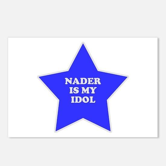 Nader Is My Idol Postcards (Package of 8)