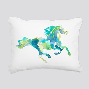 horse2 Rectangular Canvas Pillow