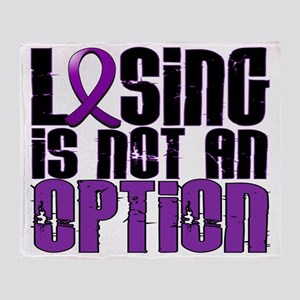 D Anorexia Losing Is Not An Option Throw Blanket