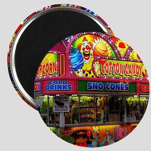 clown cotton candy Magnet