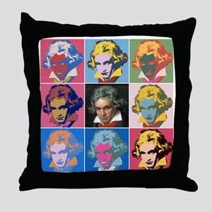 Variations on a Theme of Beethoven Throw Pillow