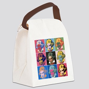 Variations on a Theme of Beethove Canvas Lunch Bag