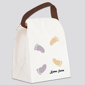 feet_10x10 1 Canvas Lunch Bag