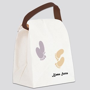 feet_10x10 3 Canvas Lunch Bag
