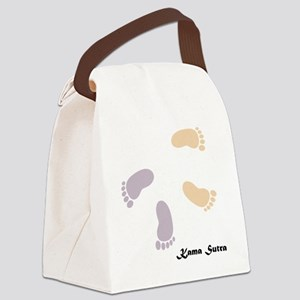 feet_10x10 4 Canvas Lunch Bag